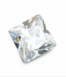 Zircon Princess Cut Gemstone