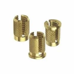 Brass - IS319 Golden Inserts, Packaging Type: Plastic Bag, for Pipe Fitting