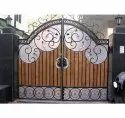 Stylish Stainless Steel Gate