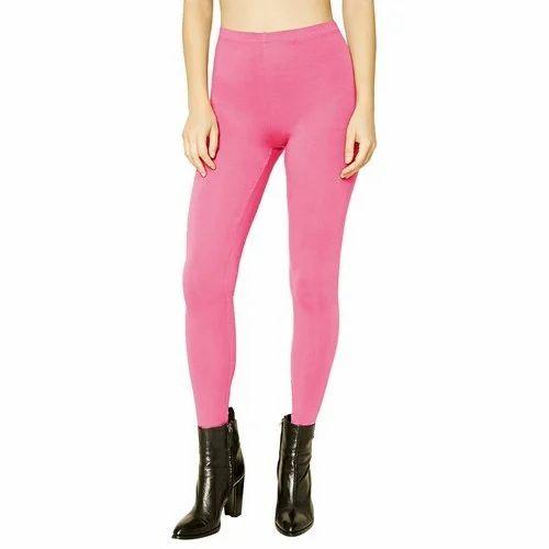 6f61aa828fadd Plain Cotton Ladies Leggings, Size: S-XXL, Rs 150 /piece | ID ...