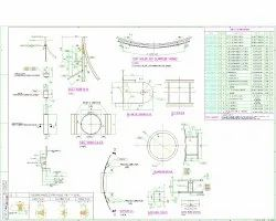 Pressure vessel Drawings preparation