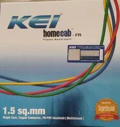 KEI homecab 1.5Sqmm, Conductor Stranding: COPPER