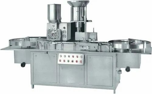Sterile Dry Powder Filling And Stoppering Machine