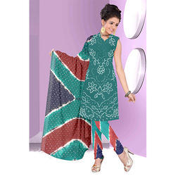 Bandhani Casual Print Suit