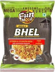 FunMood Slightly Sweet MASALA BHEL, Packaging Size: 35gm, 420 Gm Per Packet