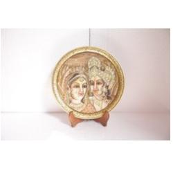 Krishna Radha Marble Plate