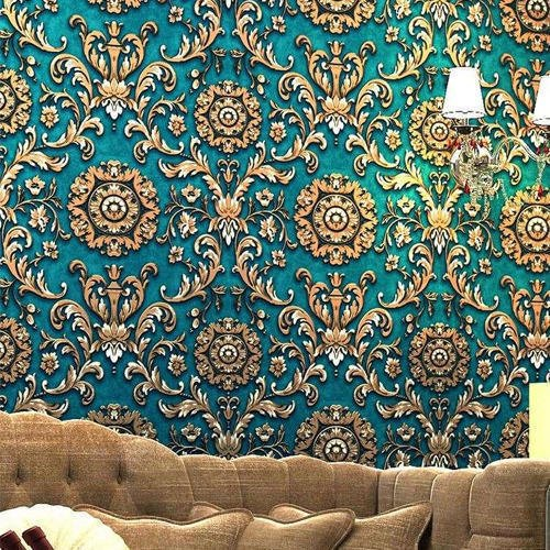Pvc Vertical Printed Hd Wall Wallpaper Thickness 1 2 Mm Rs 30