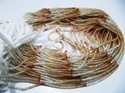 Genuine Peach Moonstone Rondelle Faceted Beads