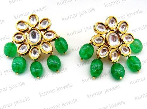 earrings india butterfly online stud green jewellery flutter lar
