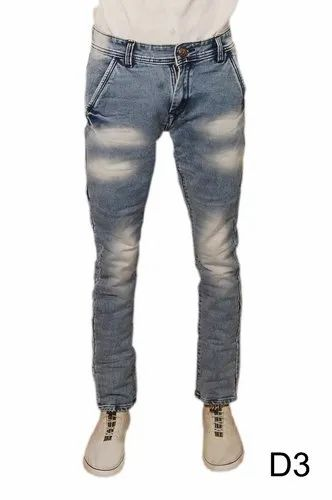 Slim Fit Men' S Denim Jeans