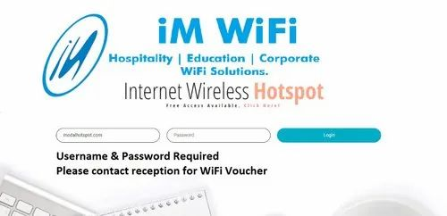 Wired And Wireless WiFi Solution For Hotels, Wireless LAN