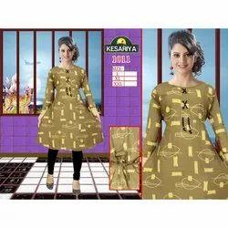 Cotton Ladies Designer Kurti