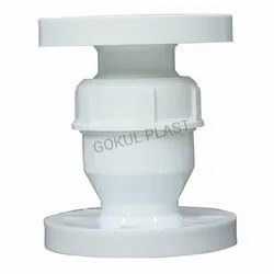 GOKUL PP Foot Valve Thread End Foot Valve, Size: 25mm To 100mm