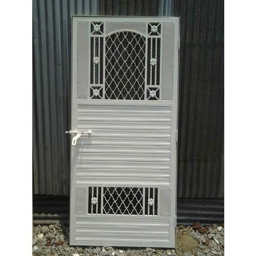 Stainless Steel Safety Doors At Rs 11000 Piece Baner