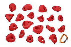 Entre-Prises Tic Climbing Holds Red