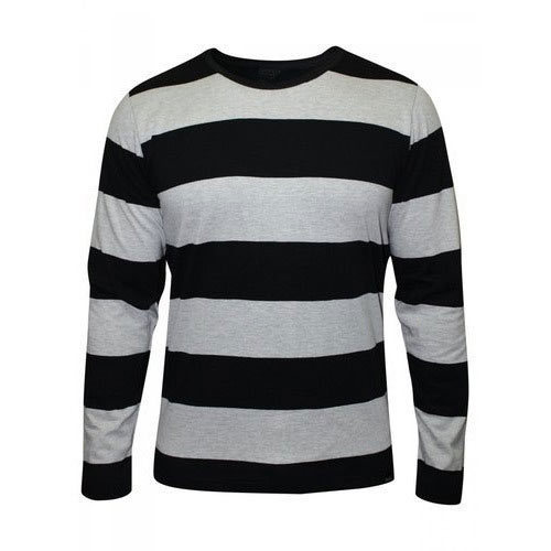 Mens Full Sleeve T Shirt, Men Long Sleeves T-Shirt - Gio Exports ...