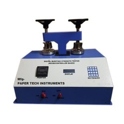 Double Head Printer Model Bursting Strength Tester
