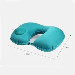Multicolor Unisex U Shape Neck Pillow, For Travling, Size: Default