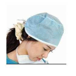 Green, Blue & White Disposable Surgical Cap