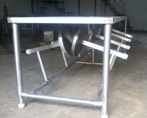Stainless Steel Dining Table Canteen Dining Table