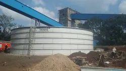 DM Water Tank, Capacity: 30000L-5000000L