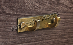 Brass C Coat Hook