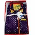 Collar Neck Mens Dot Printed Cotton Shirt, Size: M - Xxxl