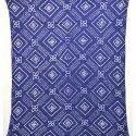 All Over Blue Color Cotton Bandhani Kurti