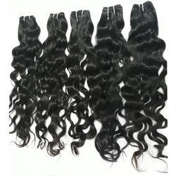 Natural Virgin Machine Weft Hair