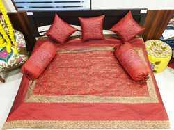 Expensive Designer Silk Diwan Set