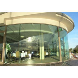 Curved Glass Wall, Upto 3.5 Mm