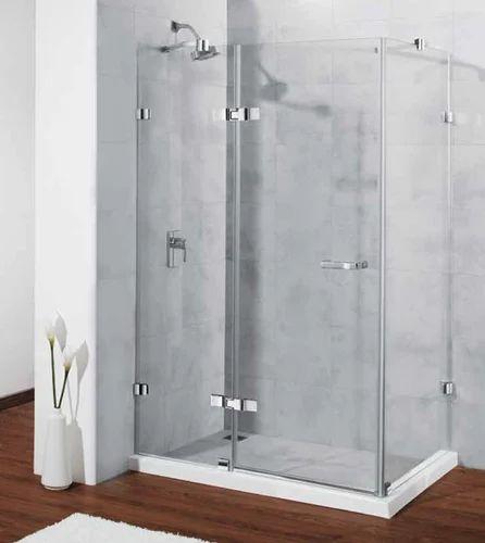 Brass Singulier Kohler Shower Enclosure, Shower Glass Panel Cost India