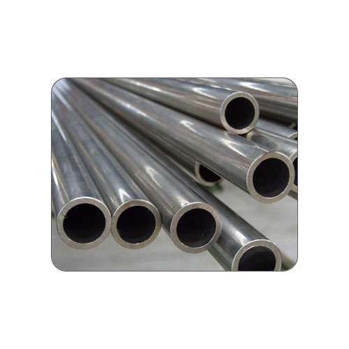 Stainless Steel Seamless Pipe Tube, Shape: Round