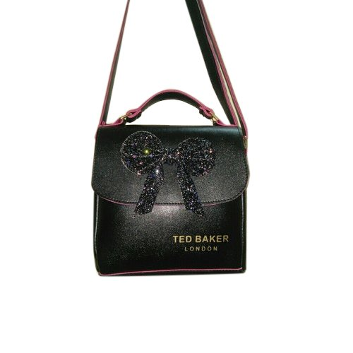 Black Rexine Designer Sling Bag 9513f3278dd57