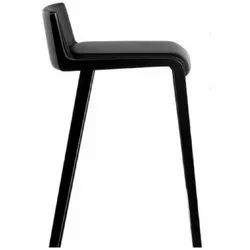 Black Bar Counter Chair
