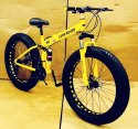Land Rover Yellow Fat Tyre Foldable Cycle