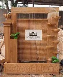 Decorative Outdoor Sandstone Fountain