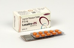 Losartan Potassium 25 mg and 50 mg Tablets