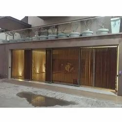 Mild Steel Or Stainless Steel Automatic Telescopic Gates