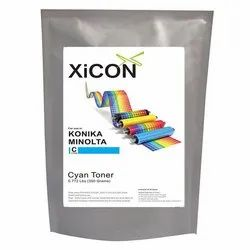 XICON Konika Minolta Cyan Color Single Toner for Konika Minolta Cyan Toner 350g