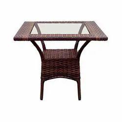 Universal Furniture Rattan & Wicker Modern Rectangular Table