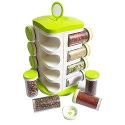 Plastic Kitchen Spice Rack