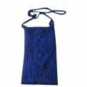 Blue Handmade Hand Bag