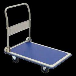 SHREE HARI Mild Steel Platform Trolley, For Industrial, Load Capacity: 300KG