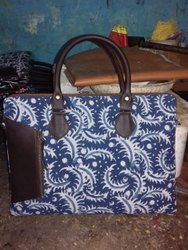 Vastragram Multicolor Hand Block Printed Laptop Bag, Capacity: Free-, Size/Dimension: 17*13