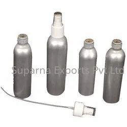 Silver Color 150 Ml Perfume Spray Bottles