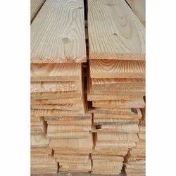 Rectangular Pine Wood Plank