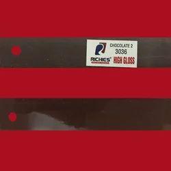 Chocolate 2 High Gloss Edge Band Tape