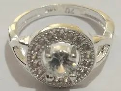 DAS Round Female Silver Fancy Ring