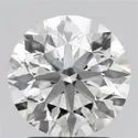 2.08ct Lab Grown Diamond CVD F VS1 Round Brilliant Cut IGI Certified Stone